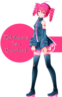 TDA Kasane Teto Download by Ohbey