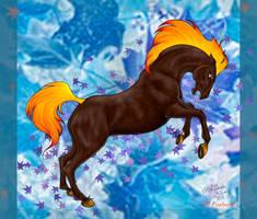 Autumn Stallion by lugiagirlz