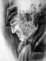 Daniel Day Lewis by MannHau
