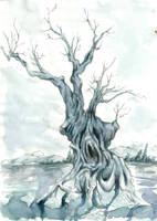 Undead tree by verda83