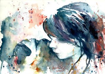 L'abbraccio by verda83