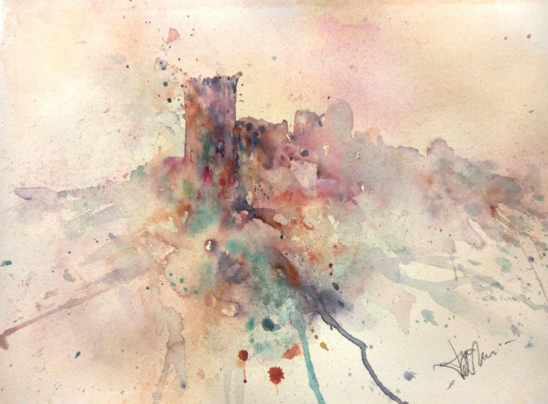 Castello nel cielo by verda83
