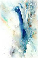 Le piume blu by verda83