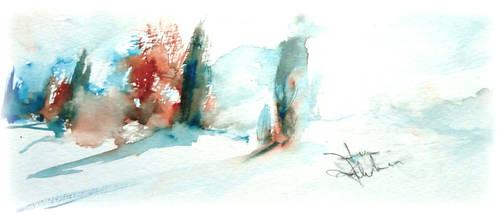 Il profilo dell inverno by verda83
