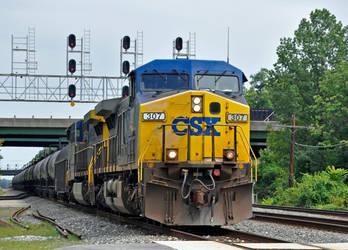 CSXT 307 by jhg162