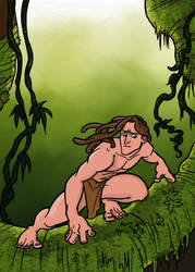 Tarzan by Writer-Colorer