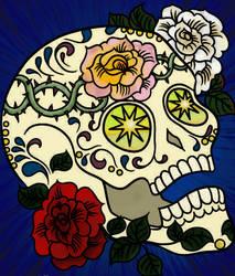 Sugar Skull by Writer-Colorer