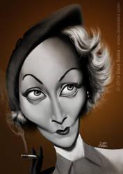 Marlene Dietrich by davisales