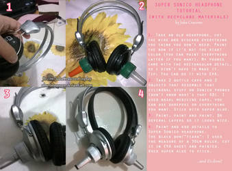 Super Sonico headphone tutorial by absolutequeen