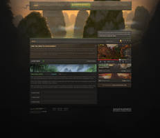 Shapawned Web Design by ZafireHD