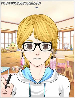 Myself in Mega Anime Avatar Creator by MadamFrost