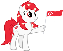 Little Red Mare Temmy by Parcly-Taxel