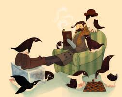 Mr. Popper's Penguins by redredundance