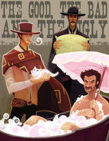 The Good the Bad and the Ugly by redredundance