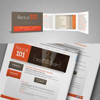 Recruit 101 - Logo, Card, Web by ayamsuhayam