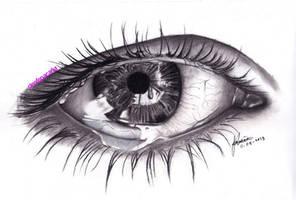 A Sad Eye (scanned version) by cLoELaLi11