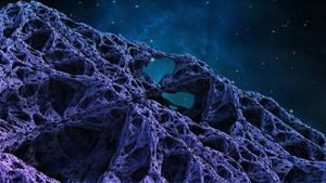 Strange Rock in Space by goto0