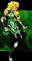 Green Lantern-Addie by xxkorinxx