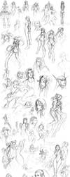 Sketches of 2007 by BlackMageAlodia