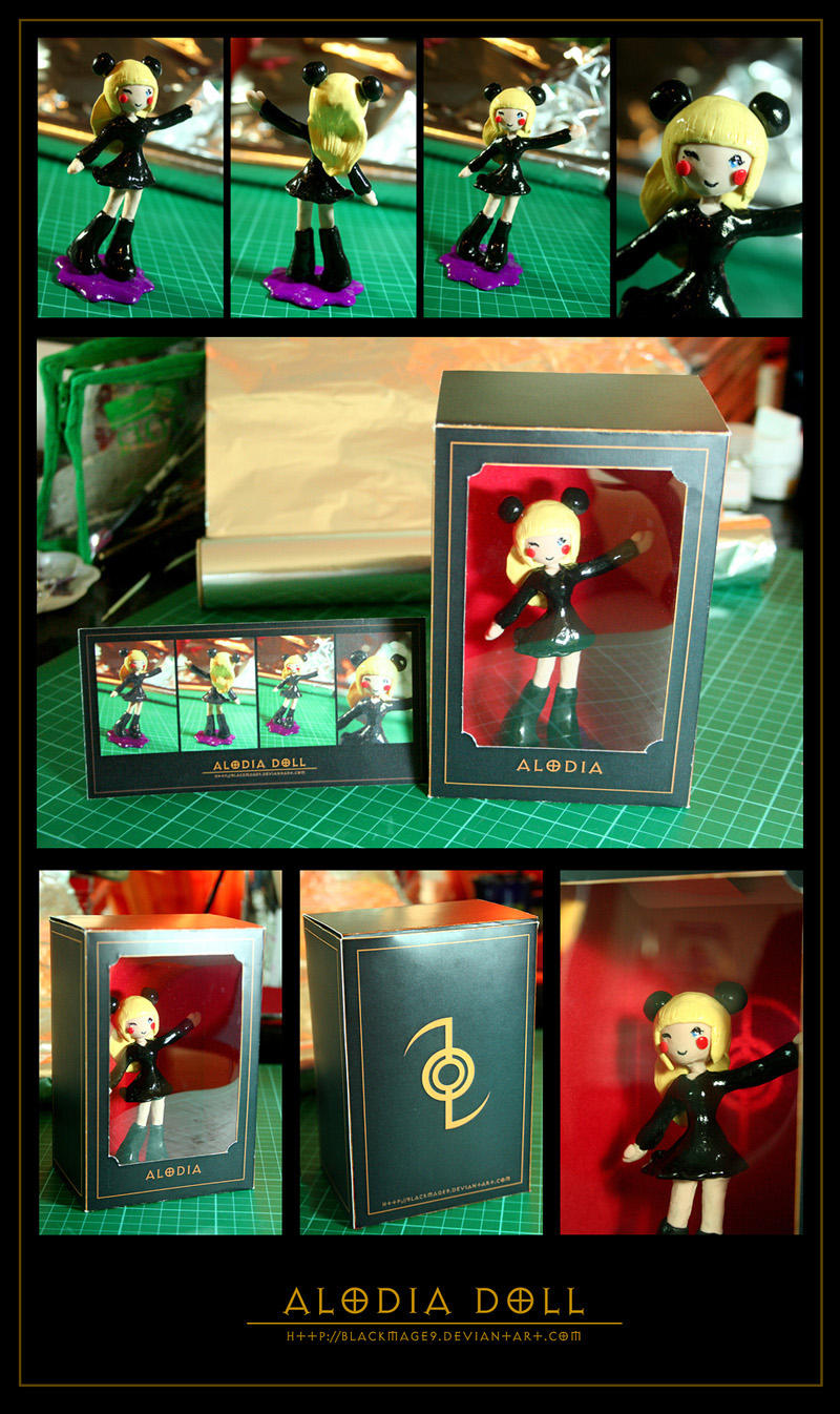 Auction Closed: Alodia Doll by BlackMageAlodia