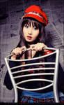Newspaper Girl III by BlackMageAlodia