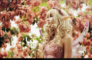 An Elven Fairy's Backyard by BlackMageAlodia