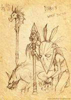 Diablo 3 Fanart by BlackMageAlodia