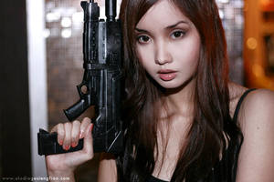 Female Terminator by BlackMageAlodia