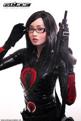 GI Joe: The Baroness by BlackMageAlodia