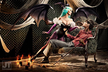Darkstalker Morrigan Aensland by BlackMageAlodia