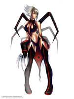 Web Mistress by BlackMageAlodia