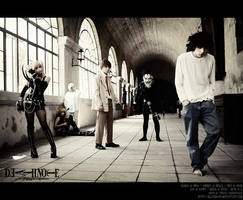 Death Note: The Movie Poster by BlackMageAlodia