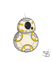 BB8 (The Force Awakens) by mexican64