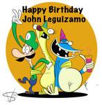 Happy Birthday John Leguizamo by mexican64