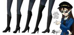 Arturetta's Boots (updated) by ArthurT2015