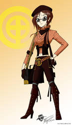 Coco Adel concept art by ArthurT2015