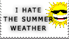 I Hate the Summer Weather by the-emo-detective