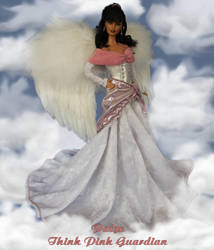 Paige A Think Pink Awareness Angel by ReflectionsByIce