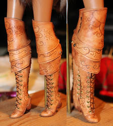 WIP - Atalanta's Boots by ReflectionsByIce