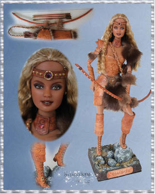 Atalanta The Huntress - OOAK by ReflectionsByIce