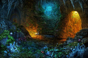 Cave 3 by Namkoart