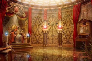 Dead Throne by Namkoart