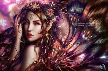Queen of Wings by Namkoart
