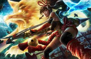 Spirit Huntress by Namkoart