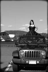 Jeep, Airplanes and a Girl, Oh My by Moon-Willow