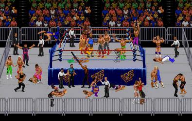M's WWF Sprite Mayhem by JandMDev