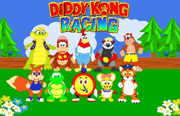 Diddy Kong Racing by JandMDev