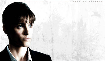 X-Files bg: Amanda Peet by iamgeorge