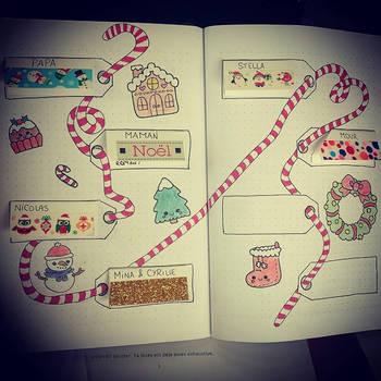 Bullet Journal - gift list for christmas by Vs-Photographie on DeviantArt