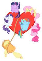 Blob Ponies Love by Bunnygirl2190